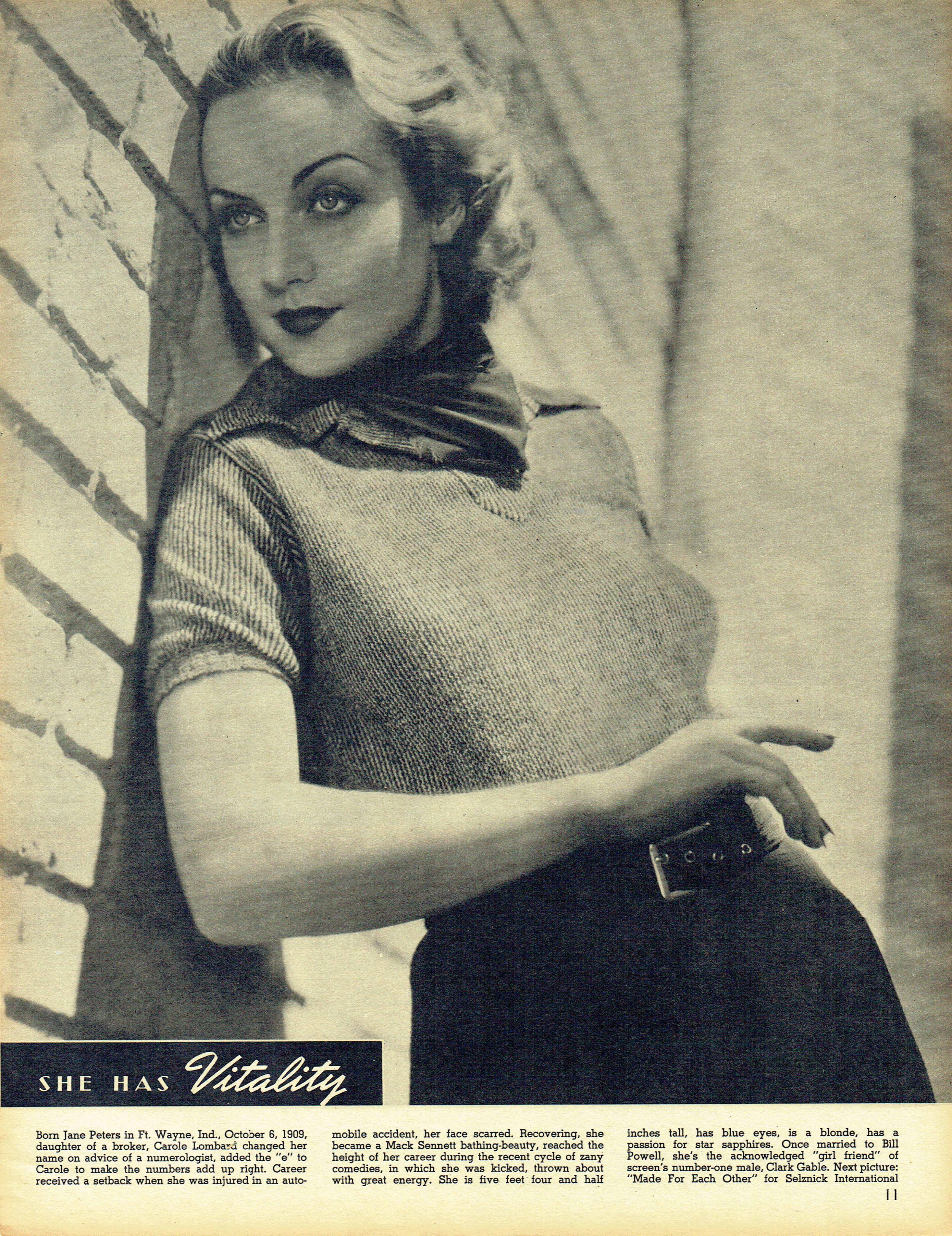 carole lombard screen guide october 1938a