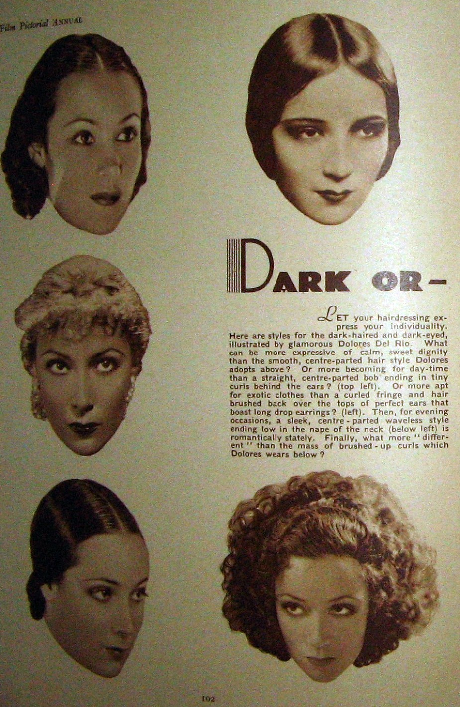 carole lombard film pictorial annual 1935ab
