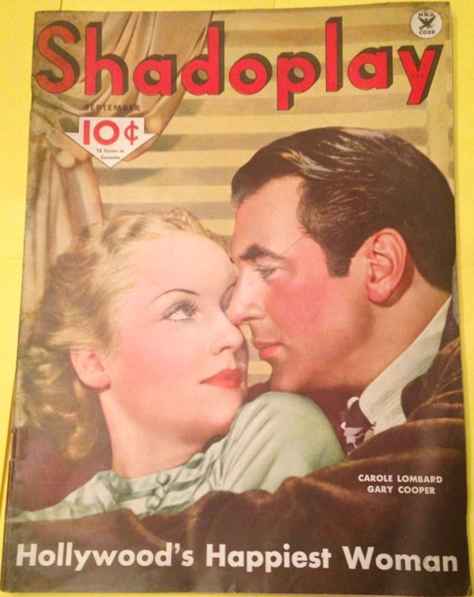 carole lombard shadoplay september 1934 cover large