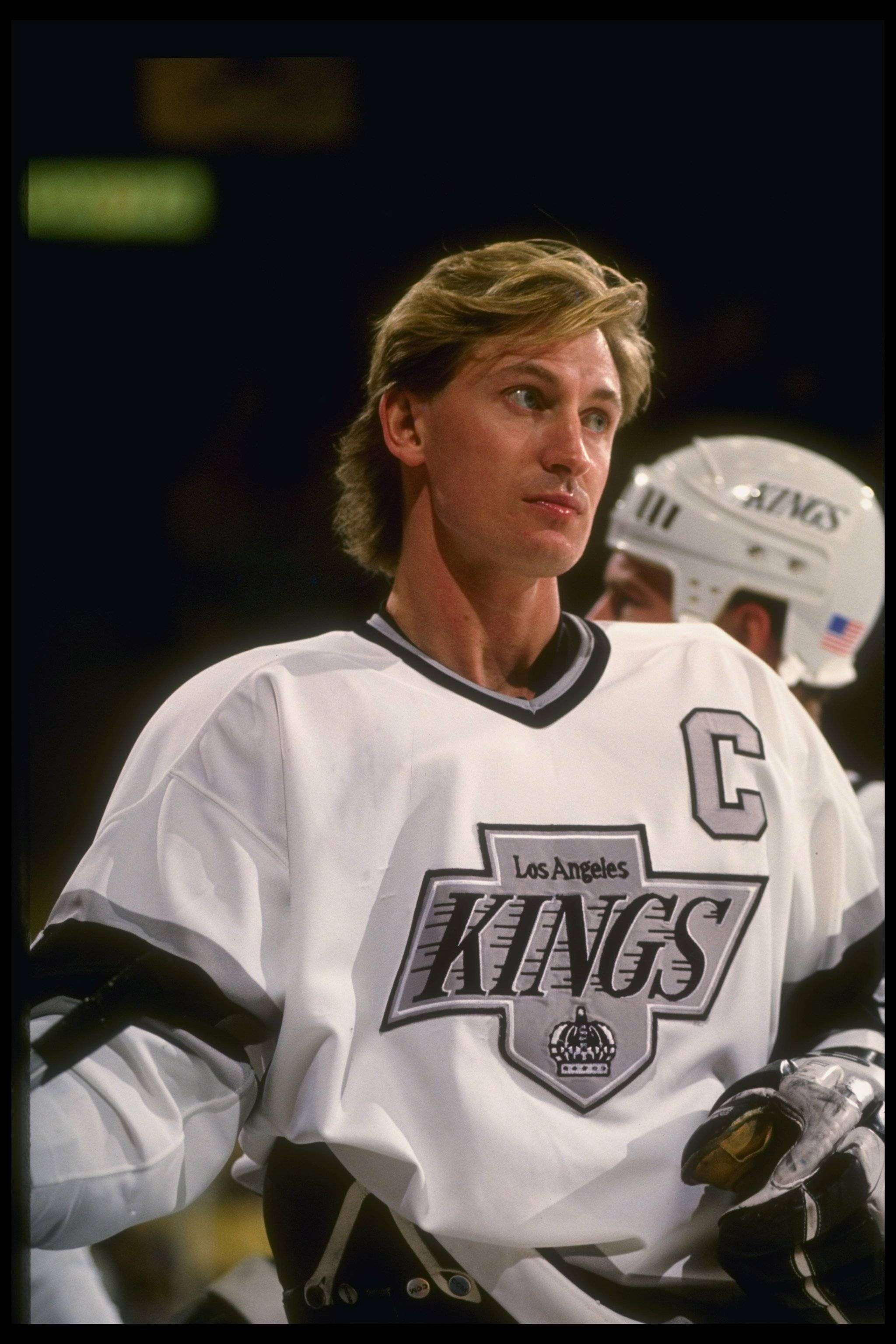 wayne gretzky los angeles kings 00