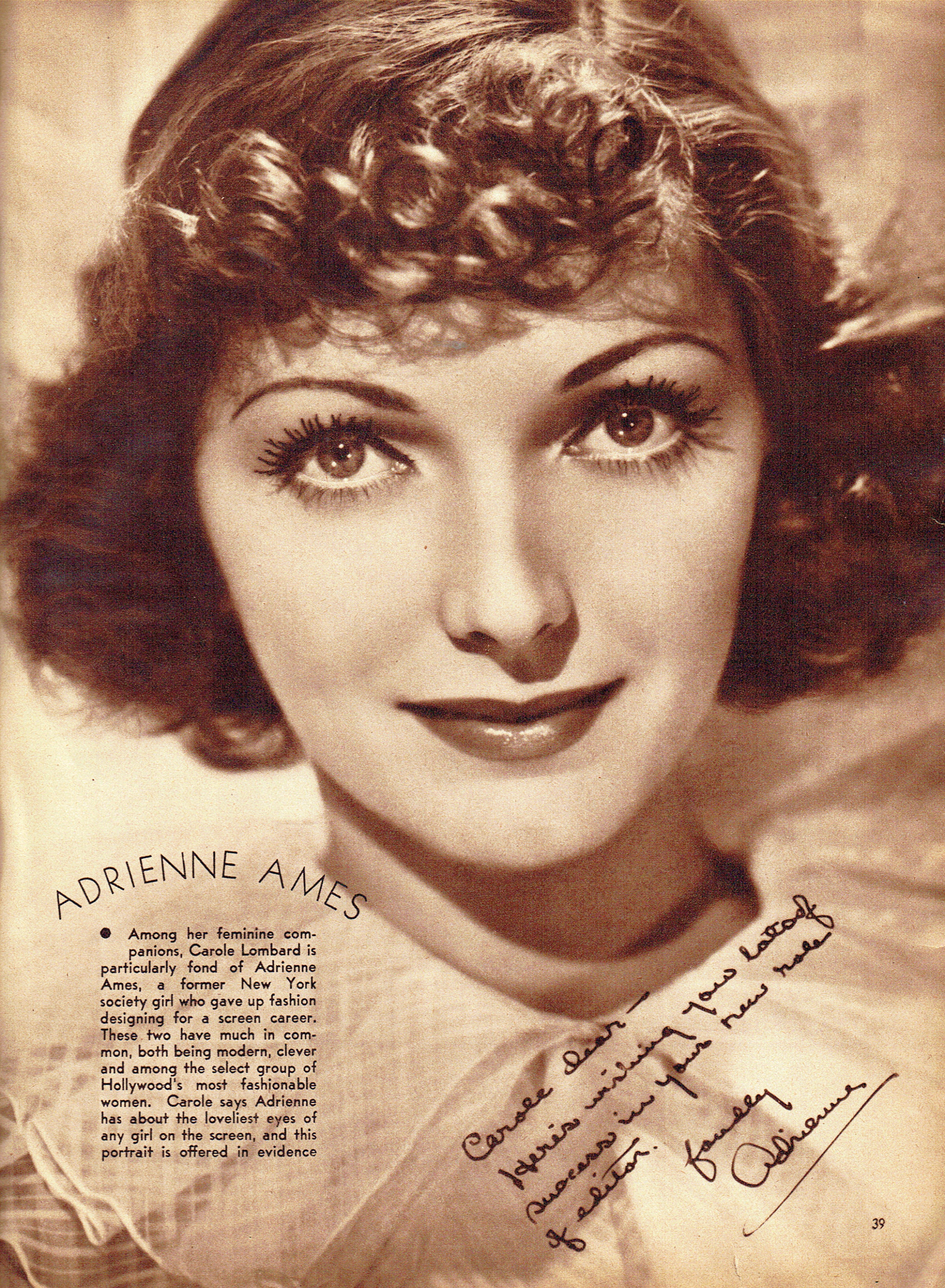 carole lombard screen book april 1936h