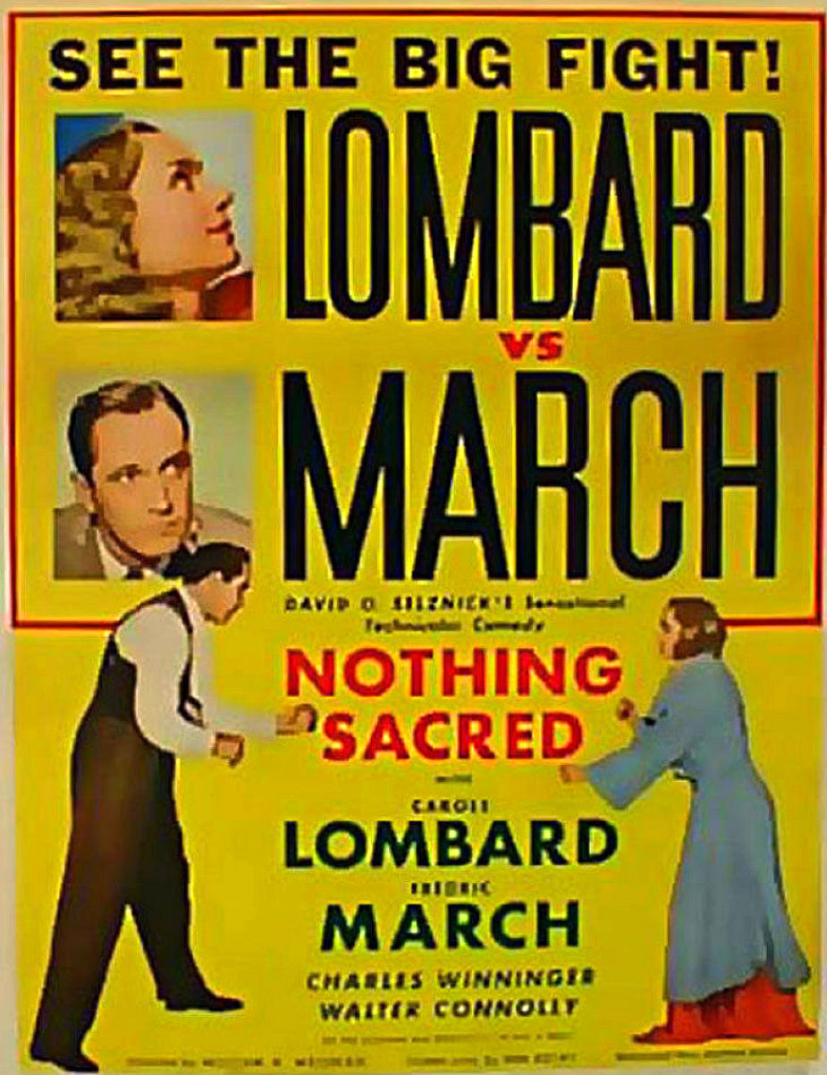 carole lombard nothing sacred poster 02c