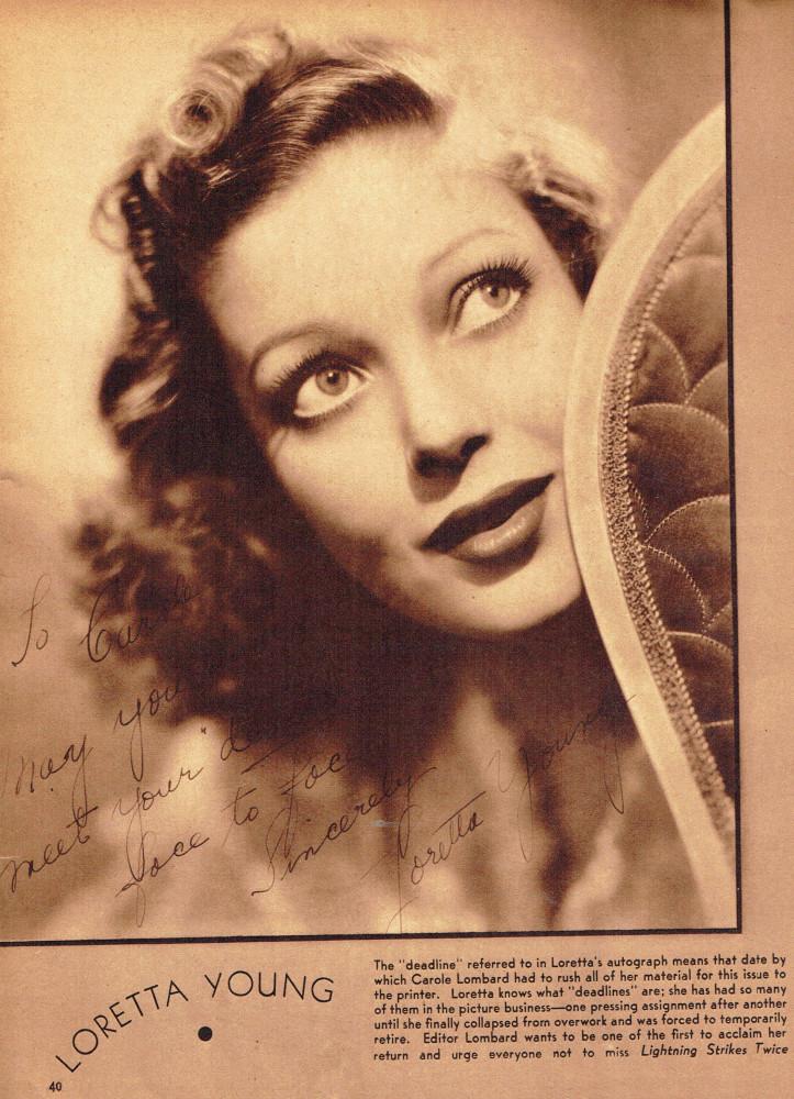 carole lombard screen book april 1936i