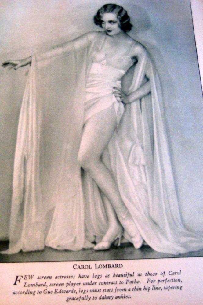 carole lombard screen art november 1929ab