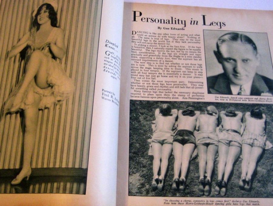 carole lombard screen art november 1929cc