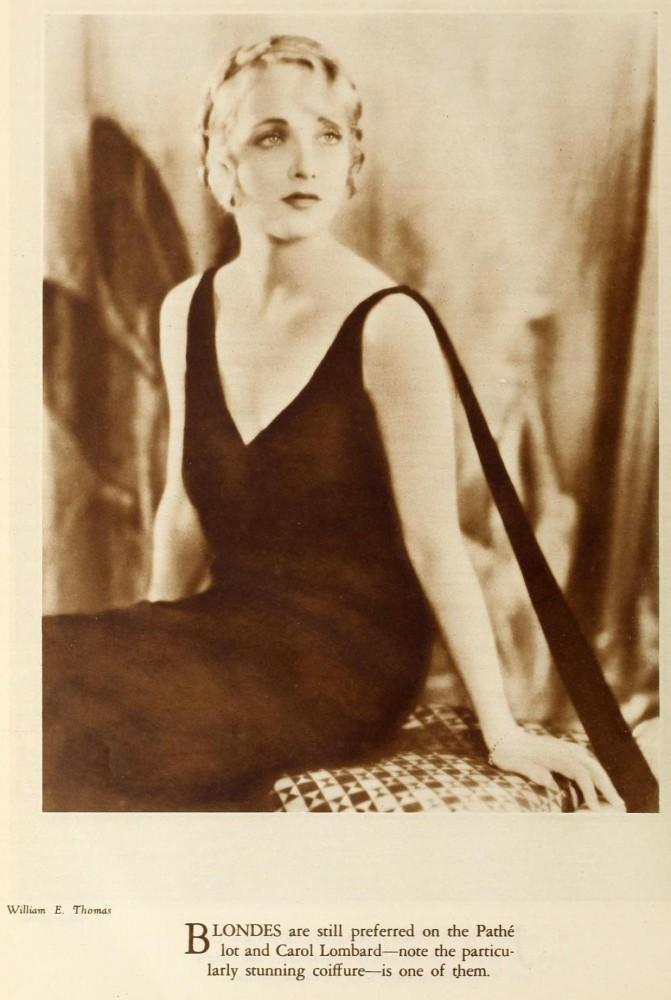 carole lombard screenland january 1930aa