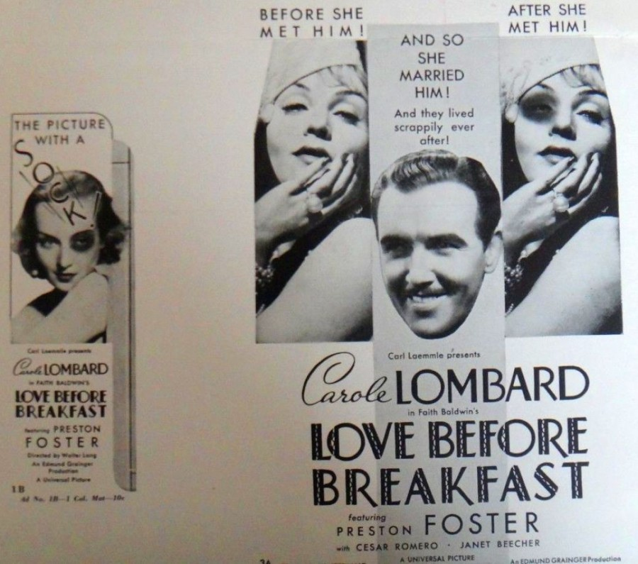 carole lombard love before breakfast press kit 02a