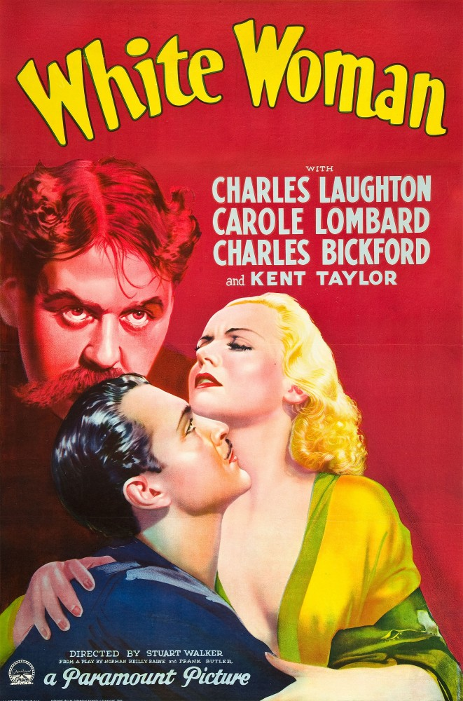 carole lombard white woman poster 02