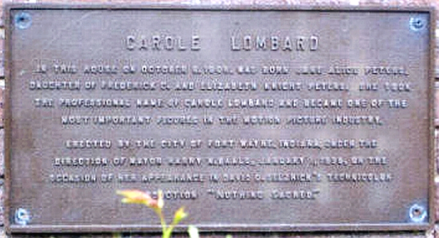 carole lombard house plaque 00b