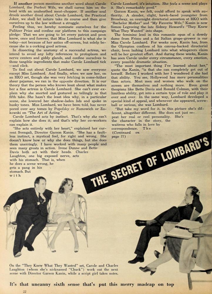 carole lombard modern screen october 1940aa