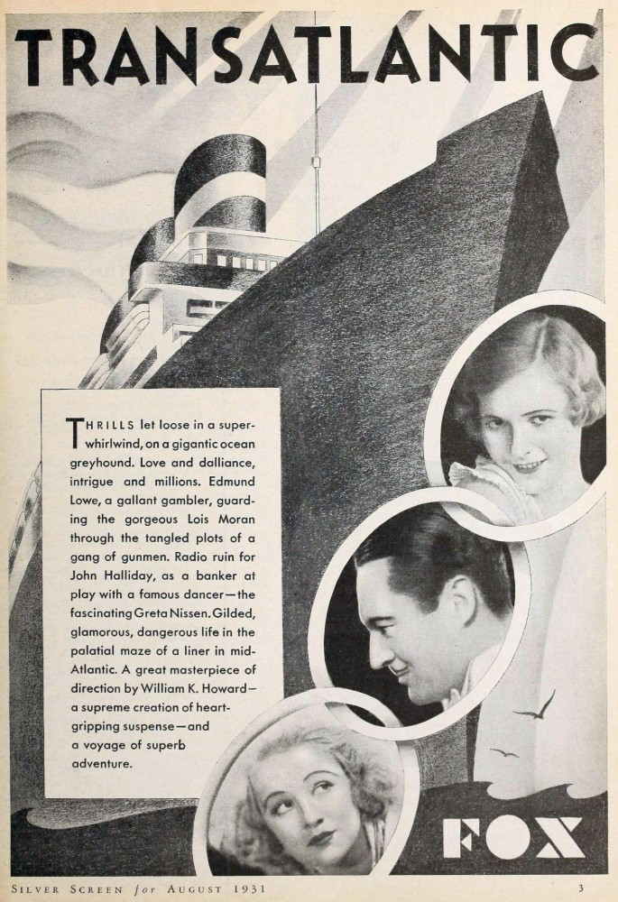 silver screen august 1931ca