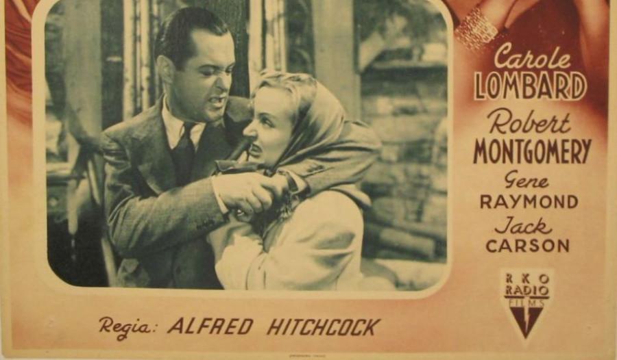 carole lombard mr. & mrs. smith italian poster 01c bottom