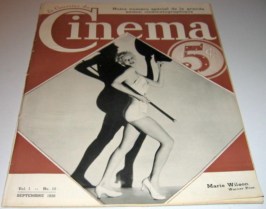 le courrier du cinema 091036a cover