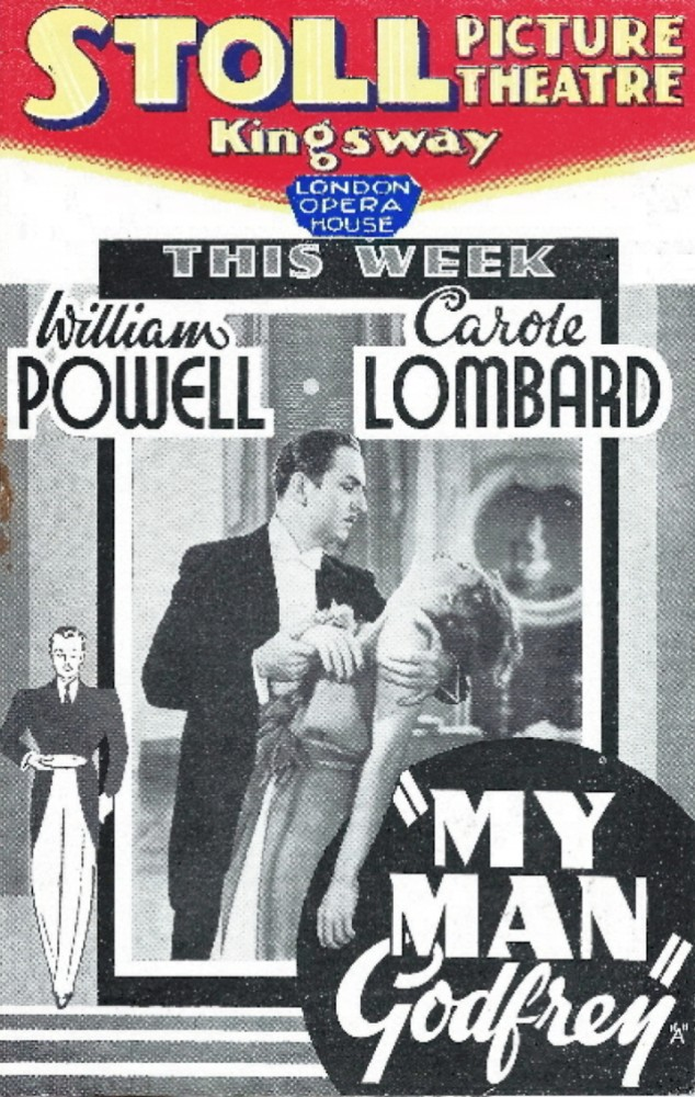 carole lombard stoll picture theatre my man godfrey 00a