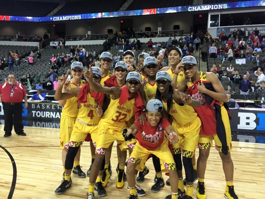 maryland women's basketball 2014-2015 big ten tournament champions