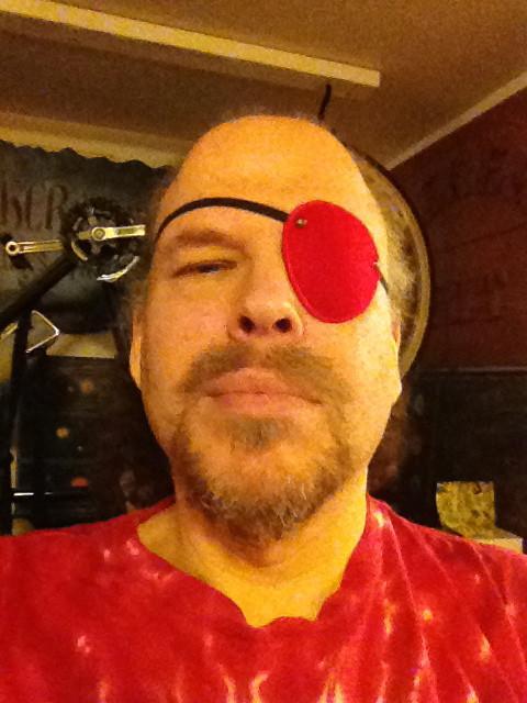 red eye patch