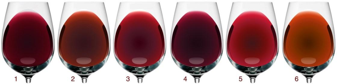 Дізнайтеся секрети кожного кольору червоного вина 2