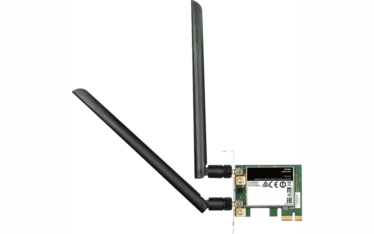 D Link Dwa 582 Wireless Ac Dual Band Pci Express