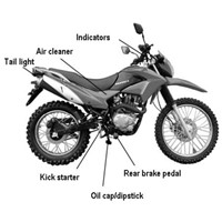 250cc Dirt Bike sourcing, purchasing, procurement agent