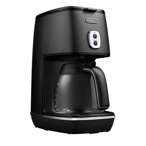 【新品】 デロンギ ICMI011J-BK コーヒーメーカー エレガンスブラックDeLonghi ディスティンタコレクション ...