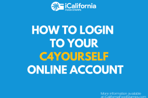 """How to login to C4Yourself Account Online for CalFresh Calworks Medical"""