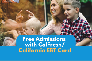 """Free Admission with California EBT"""