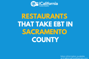 """Restaurants that Accept EBT in Sacramento County"""