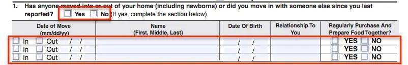 """SA7 Form - Household information"""