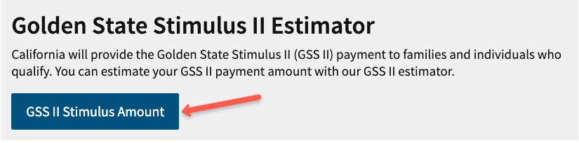 """California Stimulus Check 2 Calculator"""