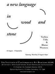 Torben Tilly & Blaine Western - A New Language In Wood And Stone