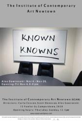 Alex Gawronski - Known Knowns