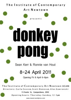 Sean Kerr & Ronnie Van Hout - Donkey Pong