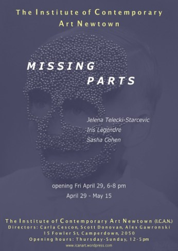 Jelena Telecki-Starcevic, Iris Legendre and Sasha Cohen - Missing Parts