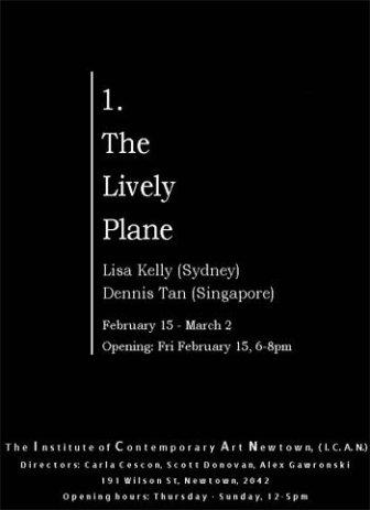 Lisa Kelly & Dennis Tan - The Lively Plane