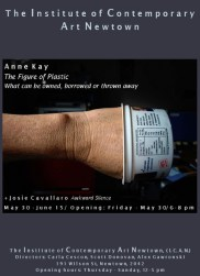 Anne Kay - The Figure of Plastic: What Can Be Owned, Barrowed, Or Thrown Away + Josie Cavallaro - Awkward Silence