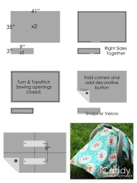 Free Baby Car Seat Canopy Tent Cover Pattern And Tutorial ...