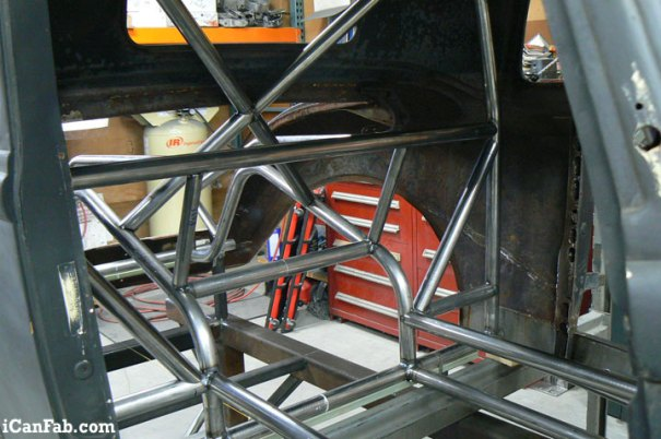 1933 Plymouth Coupe ready for JIG Table
