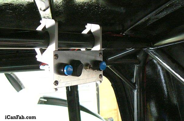 Final wiring of NOS setup