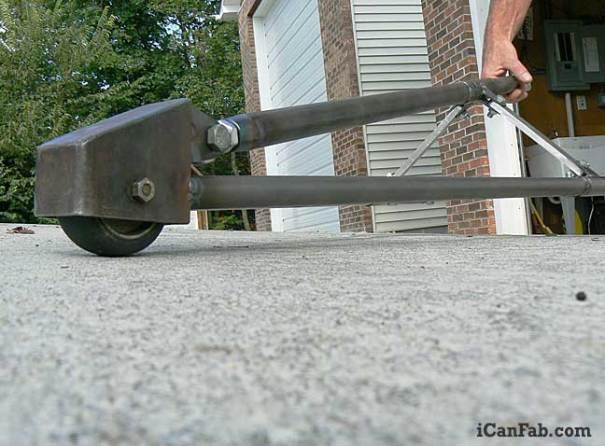 wheelie bar fabrication
