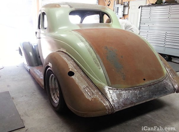 Restoring this 1936 Plymouth Coupe