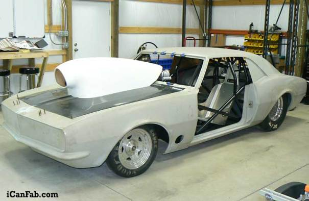 1968 camaro drag racing chassis for sale