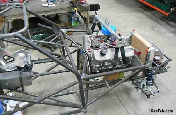 Chassis Fabrication Chevy Vega Drag Car