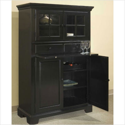 Black Kitchen Pantry Cabinet  Decor IdeasDecor Ideas