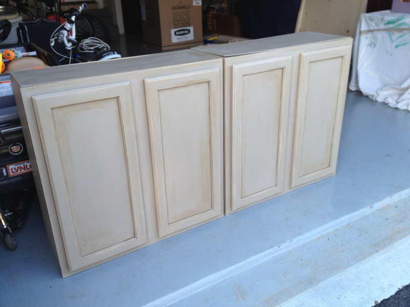 Painting Unfinished Cabinets