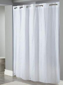 White Hookless Shower Curtain - Decor Ideasdecor Ideas
