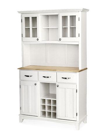 White Kitchen Hutch Cabinet  Decor IdeasDecor Ideas