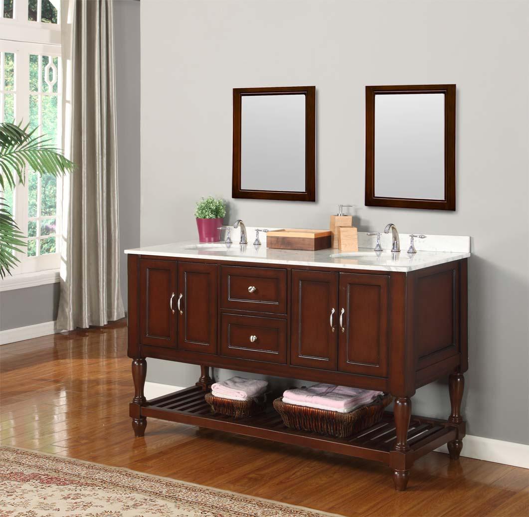 Furniture Style Bathroom Vanity Cabinets  Decor