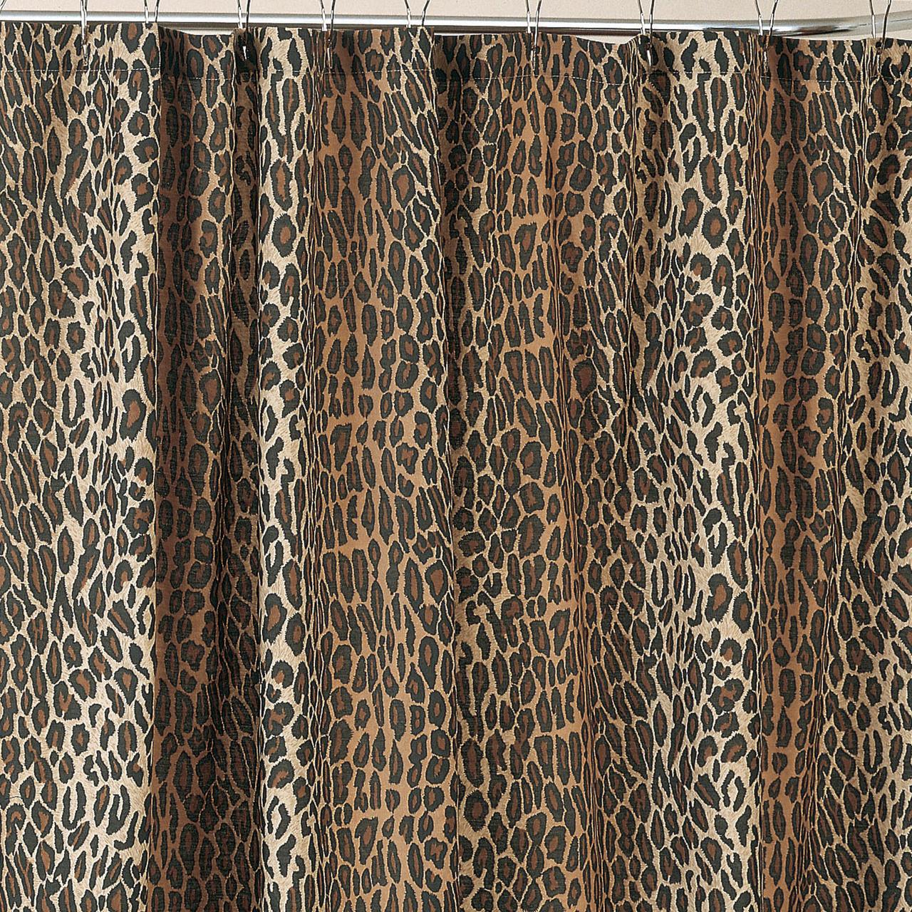 Leopard Shower Curtain Set  Decor IdeasDecor Ideas