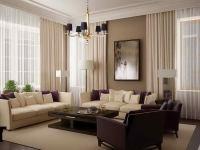 Modern Living Room Curtains Drapes - Decor IdeasDecor Ideas