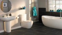 Slate Bathroom Floor Tiles - Decor IdeasDecor Ideas